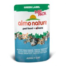 Almo Nature - Green label - Raw Pack Tonggol Thunfischfilet