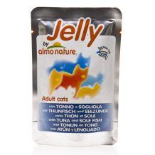Almo Nature - Jelly mit Thunfisch und Seezunge