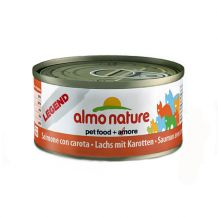 Almo Nature - Nassfutter - Legend Lachs mit Karotten