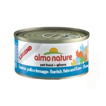 Almo Nature - Nassfutter - Legend Thunfisch, Huhn & Käse