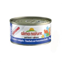 Almo Nature - Nassfutter - Legend Thunfisch mit Venusmuscheln