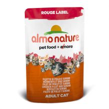 Almo Nature - Rouge Label - Hühnerfilet und Surimi
