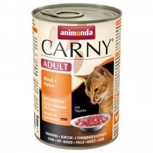 Animonda - Nassfutter - Carny Adult Rind + Huhn 400g