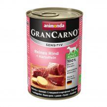 Animonda - Nassfutter - GranCarno Sensitiv Adult Reines Rind + Kartoffeln 6 x 400g (getreidefrei)