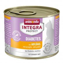 Animonda - Nassfutter - Integra Protect Adult Diabetes mit Geflügel 6 x 200g