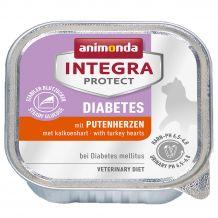 Animonda - Nassfutter - Integra Protect Adult Diabetes mit Putenherzen 16 x 100g