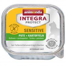 Animonda - Nassfutter - Integra Protect Adult Sensitive Pute + Kartoffeln 16 x 100g