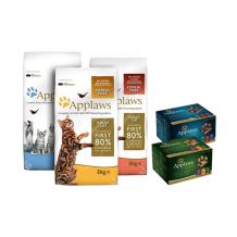 Applaws Cat - Trockenfutter - Premium Sale 2kg + Selection Multipack