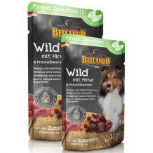 Belcando - Nassfutter - Wild mit Hirse & Preiselbeeren