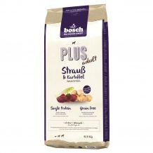 Bosch - Trockenfutter - Plus Adult Strauß & Kartoffel 12,5kg (getreidefrei)
