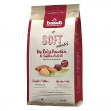Bosch - Trockenfutter - Soft Maxi Wildschwein und Süßkartoffel 1kg (getreidefrei)