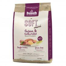 Bosch - Trockenfutter - Soft Mini Fasan und Süßkartoffel 2,5kg (getreidefrei)