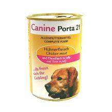 Canine-Porta 21 - Nassfutter - Huhn mit Thunfisch (getreidefrei)