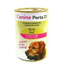 Canine-Porta 21 - Nassfutter - Rind und Reis in Jelly (getreidefrei)