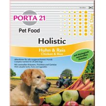 Canine Porta 21 - Trockenfutter - Porta Holistic Dog Food Adult Huhn & Reis 7,5kg in der Futtertonne