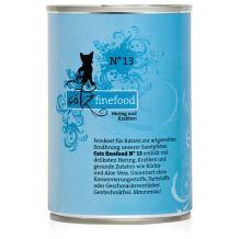 Catz finefood - Nassfutter - No.13 Hering & Krabben 400g (Katzenfutter)