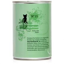Catz finefood - Nassfutter - No.15 Huhn & Fasan 400g (Katzenfutter)