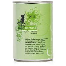 Catz finefood - Nassfutter - No.5 Lachs 400g (Katzenfutter)