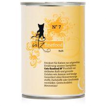 Catz finefood - Nassfutter - No.7 Kalb 400g (Katzenfutter)