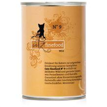Catz finefood - Nassfutter - No.9 Wild 400g (Katzenfutter)