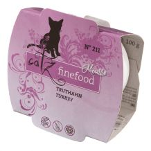 Catz finefood - Nassfutter - Mousse No.211 Truthahn 100g (getreidefrei)
