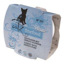 Catz finefood - Nassfutter - Mousse No.217 Truthahn mit Iberico Schwein