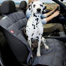 Doctor Bark - Autoschondecke Beifahrersitz grau