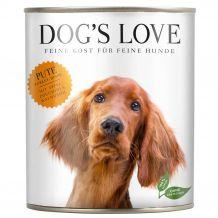 Dog's Love - Nassfutter - Classic Pute mit Apfel und Zucchini (getreidefrei)