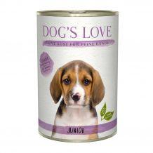Dogs Love - Nassfutter - Junior Lamm mit Kürbis und Kamille (getreidefrei)