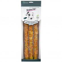 Dokas - Kausnack - Kaurolle mit Hühnerbrust (getreidefrei)