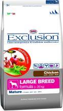 Exclusion - Mediterraneo Trockenfutter - Mature Large Breed mit Huhn