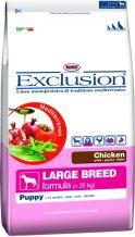 Exclusion - Mediterraneo Trockenfutter - Large Breed Puppy Junior mit Huhn