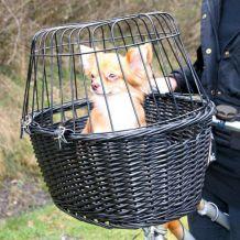 Trixie - Hundezubehör - Fahrradkorb mit Gitter