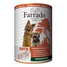 Farrado-Nassfutter-Ente-100% -400g-(getreidefrei)