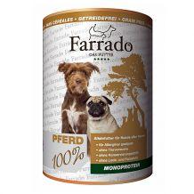 Farrado - Nassfutter Hund - Pferd 400g (getreidefrei)