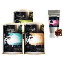 Farrado - Nassfutter - Premium Paket mit 24 x 400g + Snack