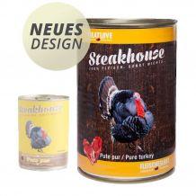 Fleischeslust - Nassfutter - Steakhouse Pute Pur