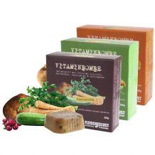 Fleischeslust - Ergänzungsfutter - Vitaminbombe gemischtes Sortiment 18 x 300g (getreidefrei)