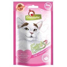 GranataPet - Katzensnack - Feinis Ente und Katzenminze 6x50g
