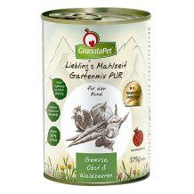 GranataPet - Ergänzungsfutter - Liebling's Mahlzeit Gartenmix PUR