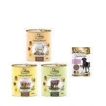 GranataPet - Nassfutter - Premium Paket mit 24 x 800g + Snack
