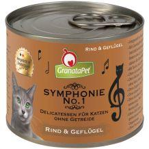 GranataPet - Nassfutter - Symphonie No. 1 Rind & Geflügel (getreidefrei)