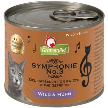 GranataPet - Nassfutter - Symphonie No. 3 Wild & Huhn (getreidefrei)