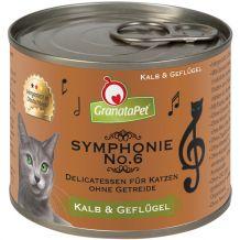 GranataPet - Nassfutter - Symphonie No. 6 Kalb & Geflügel (getreidefrei)