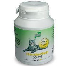 grau - Cat Care Plus Ergänzungsfutter - Rinderfettpulver 50g