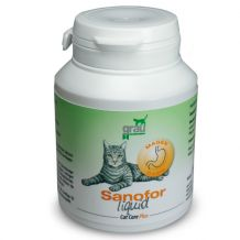 grau - Cat Care Plus Ergänzungsfutter - Sanofor