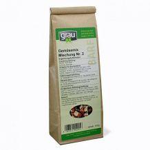 grau - Ergänzungsfutter - BARF - Gemüsemix Mischung Nr. 2