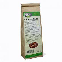 grau - Ergänzungsfutter - Karotten-Würfel 150g