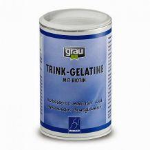 grau - Nahrungsergänzung - Trink-Gelatine mit Biotin