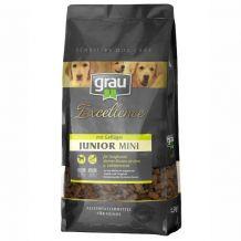 grau - Trockenfutter - Excellence Junior Mini mit Geflügel